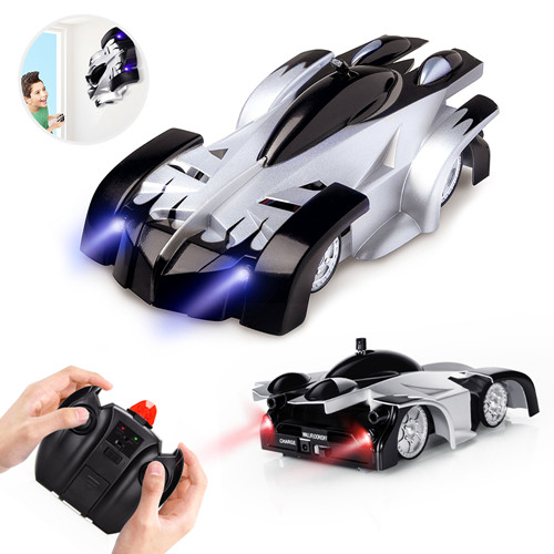 Baztoy Remote Control Car, Kids Toys Wall Stunt Car Dual Modes 360°Rotation RC Cars Vehicles Toys Children Games Funny Gifts Cool Gadgets for Boys Girls Teenagers Adults, Black UPC 716045788390